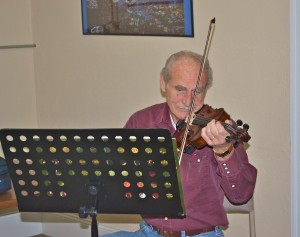 Violin playing, great music
