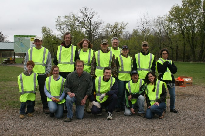 The clean up crew for 2012 Earth Day Clean Up
