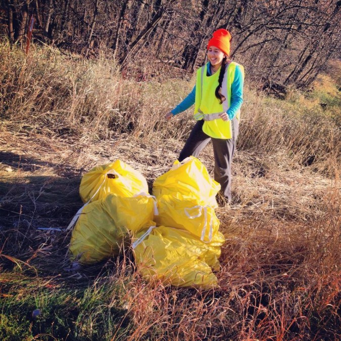 Fall 2013 CURE Highway clean-up