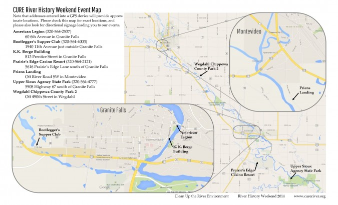 Weekend Overview Map