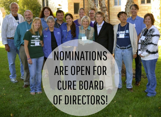 CURE Board of Directors Nomination Header_2014