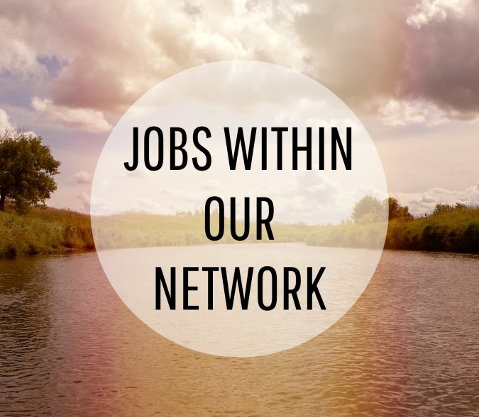 Jobs within our netowkr graphic