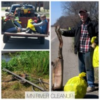MN River Cleanup graphic