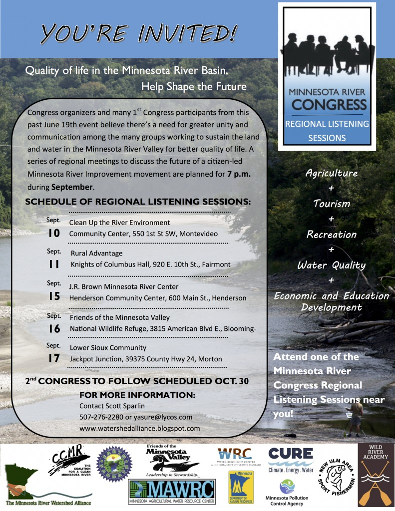 MN River Congress Flyer