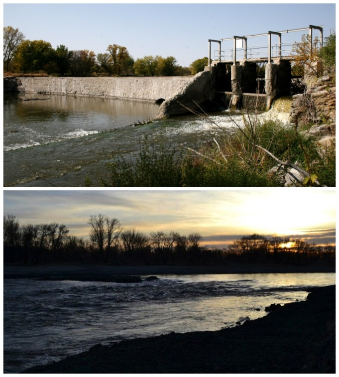 MN Falls Dam Removal collage