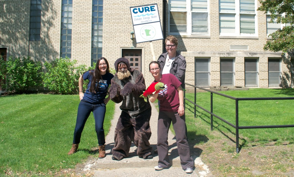 CURE staff after the rally in St. Paul.