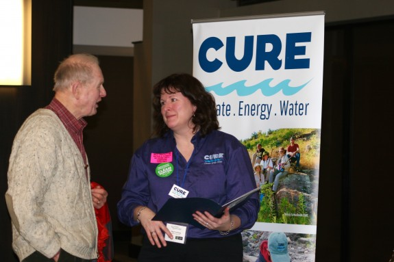 CURE was the only organization to have a table at the summit and it provided staff a great opportunity to connect with CURE's members like David Minge, one of CURE's founders.