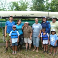Paddling with Wild River Academy, Summer 2013