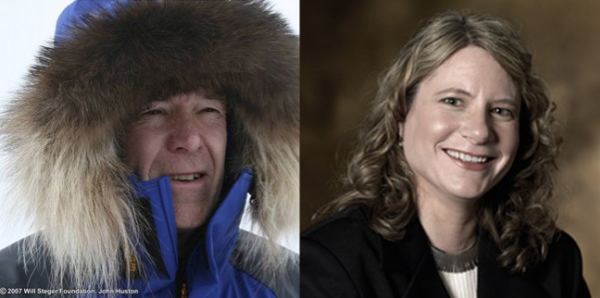 Polar Explorer Will Steger and Fresh Energy's J. Drake Hamilton