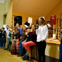 Deep Roots event at Watson Town Hall, Fall 2013