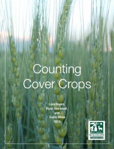 Counting Cover Crops. (cover crops, Mississippi River Basin, water quality, agriculture, soil health)