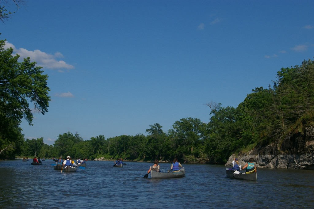 Paddling the MinnesotaRiver