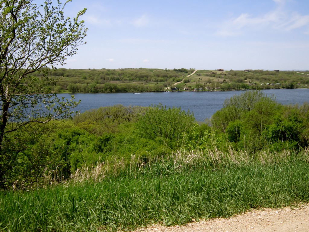 A view of Big Stone Lake.