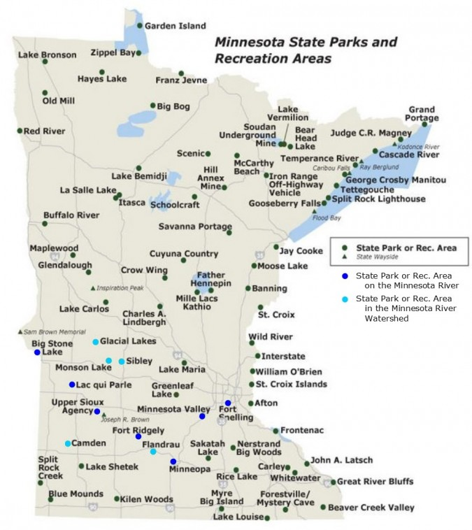 Map_State Parks in the Watershed