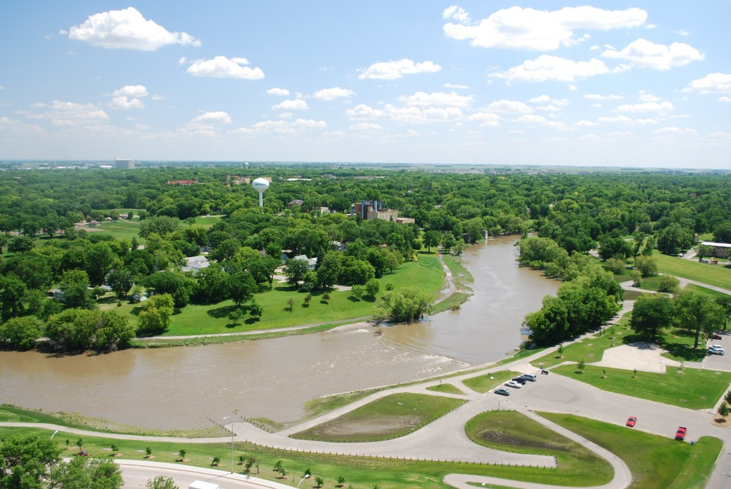 Red River in Fargo Mooreheads_creative commons