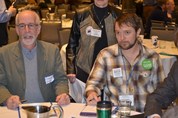 On right_Brad Fernholz, farmer & CURE Board Member from Appleton, MN