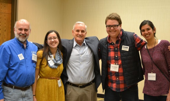 I had the opportunity to meet Governor Mark Dayton because of CURE's important work around water.