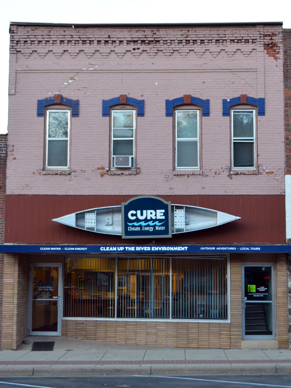 CURE Building in 2018