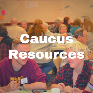 Caucus Resources button
