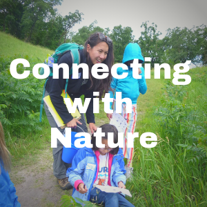 Connecting with Nature button