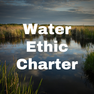 Water Ethic Charter button