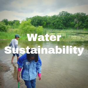 Water Sustainability page button