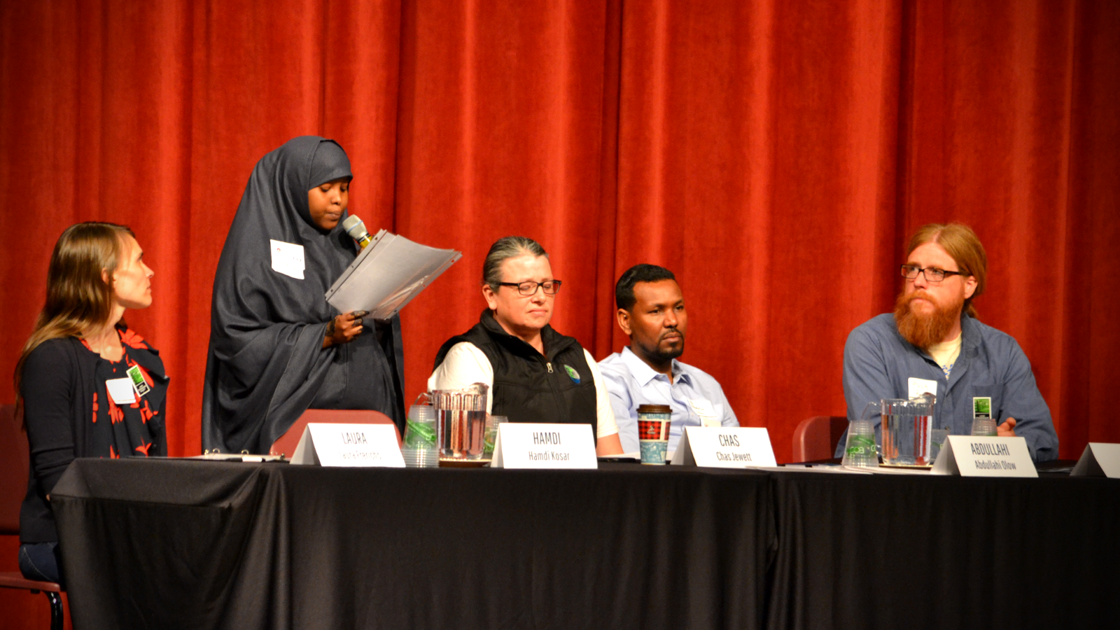 A panel of speakers at 2018's Educate the Canidate