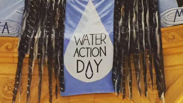 Water Action Day Banner