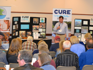 CURE members gathered for the 2018 Annual Business Meeting.