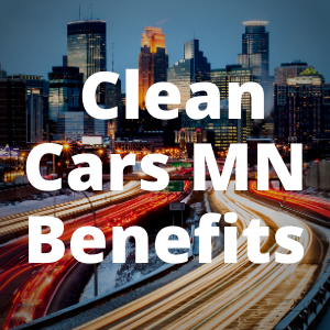 Clean Cars MN Benefits Button
