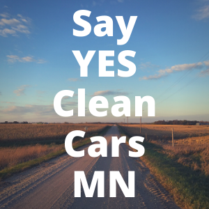 Say YES Clean Cars MN Button