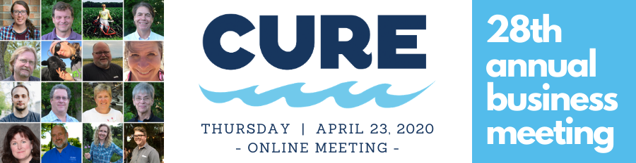 CURE 28th Annual Business Meeting Header