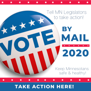 Vote by Mail 2020 Graphic