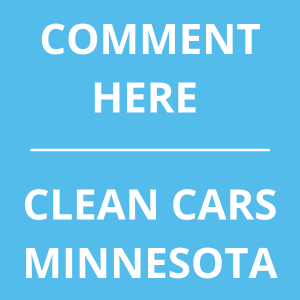 Comment Here for Clean Cars MN - button